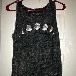 Tops - phases of the moon tank